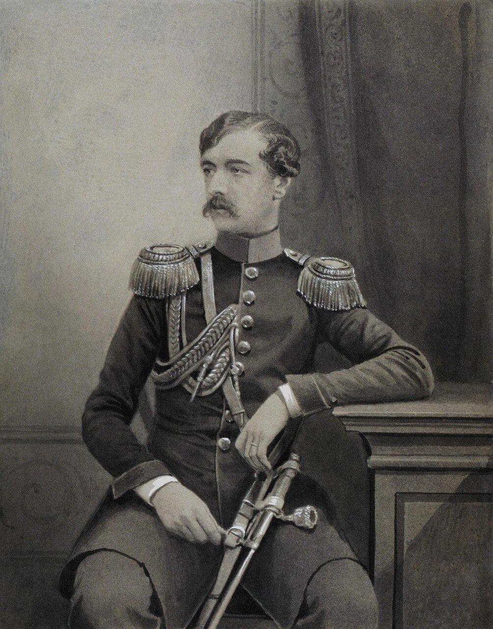Портрет неизвестного военного