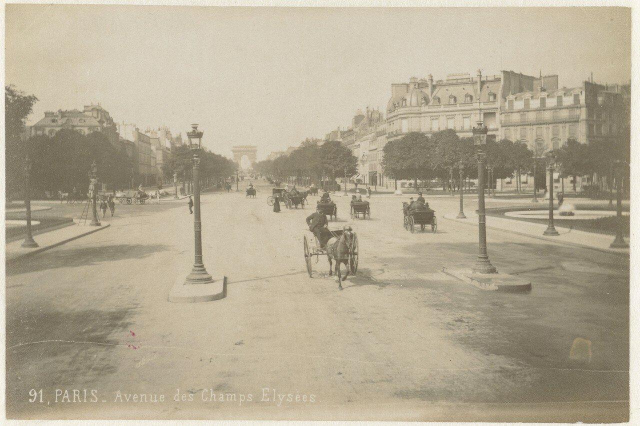 1870-е. Елисейские поля
