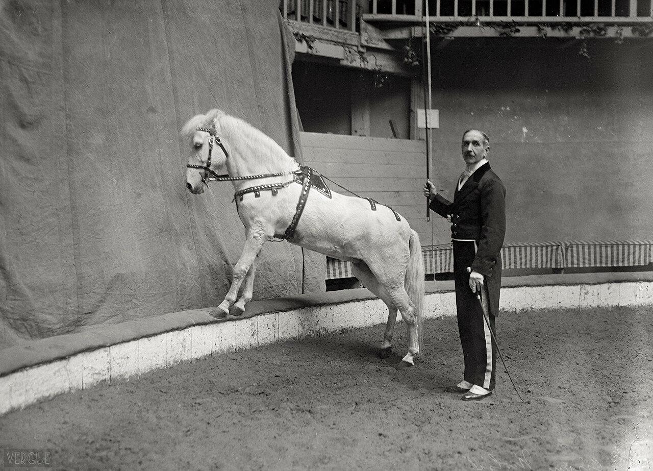 1921. Цирк Мольера