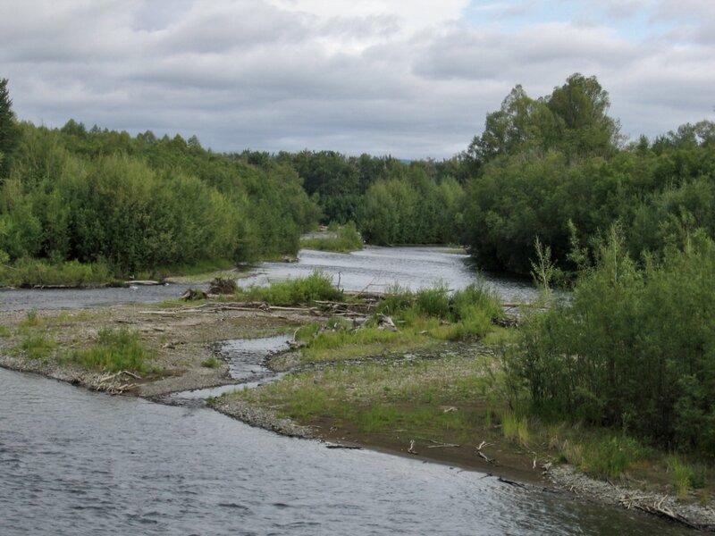 Отмель на реке Быстрой