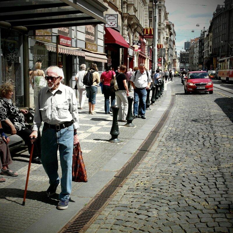 пражские фотографии улиц