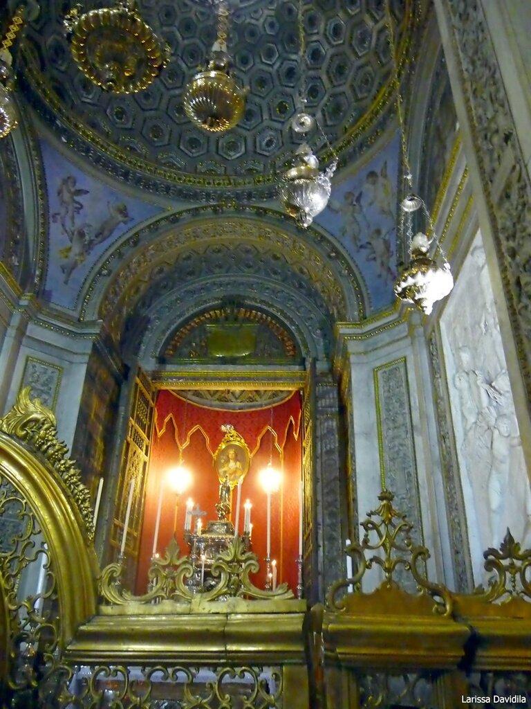 Капелла Св. Розалии, покровительницы Палермо.