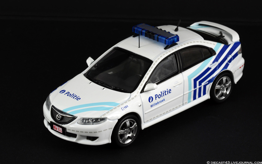 Mazda6 1:43 J-Collection