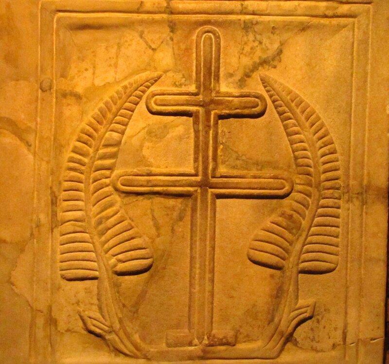 Салоники. Подземная церковь в ц. Св. Дмитрий.