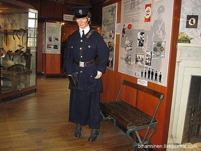 Рассказ о работе женщин-кондукторов. Музей народной истории, экспонаты