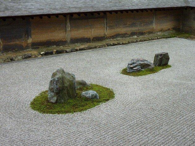 Сад камней Рёандзи. Япония