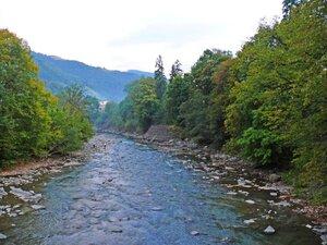 Река Тиса у села Квасы