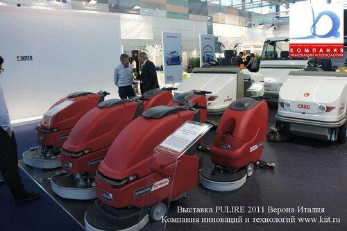Китайские поломоечные машины COMAC