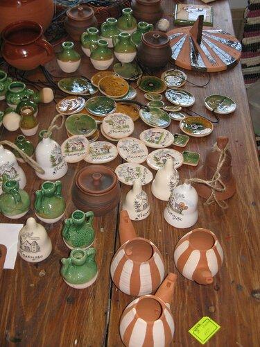 Сувениры усадьбы Поленова