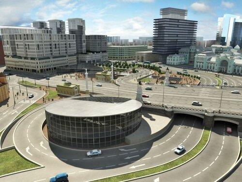 Проект реконструкции площади у
