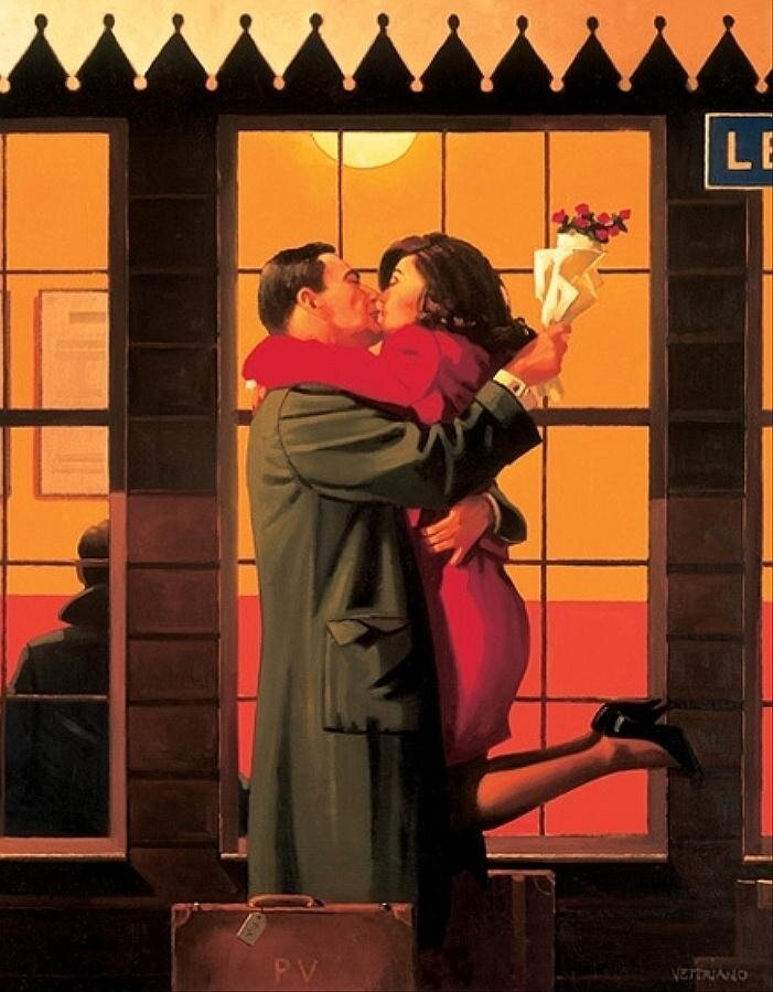 Back Where You Belong, by Jack Vettriano