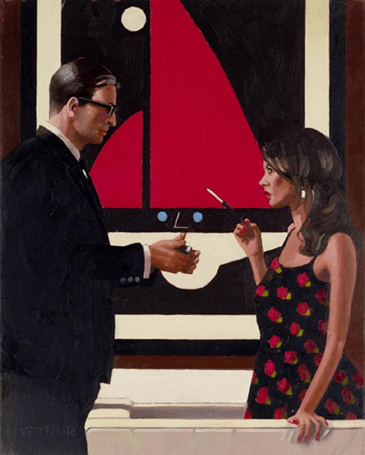 Lounge Lizards, by Jack Vettriano