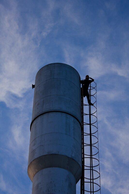 водонапорная башня тиз