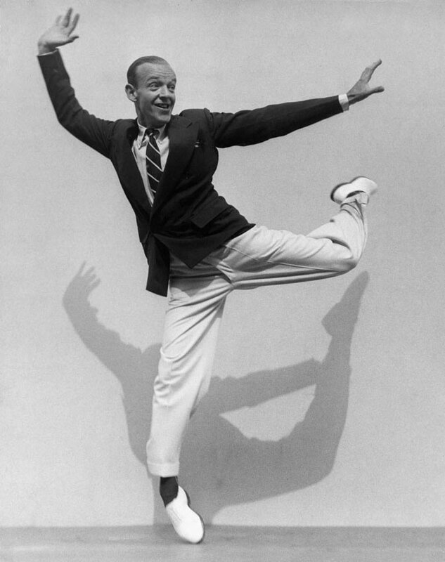 Martin Munkacsi, Fred Astaire on his Toes, 1936
