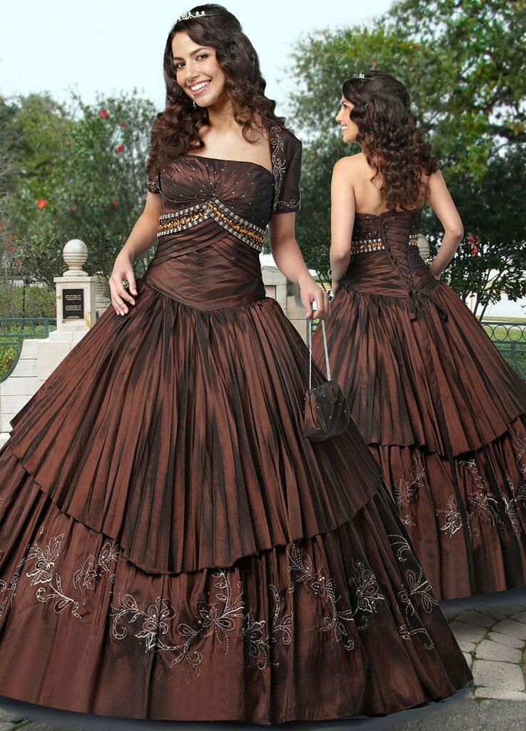 Бальные платья - 1.