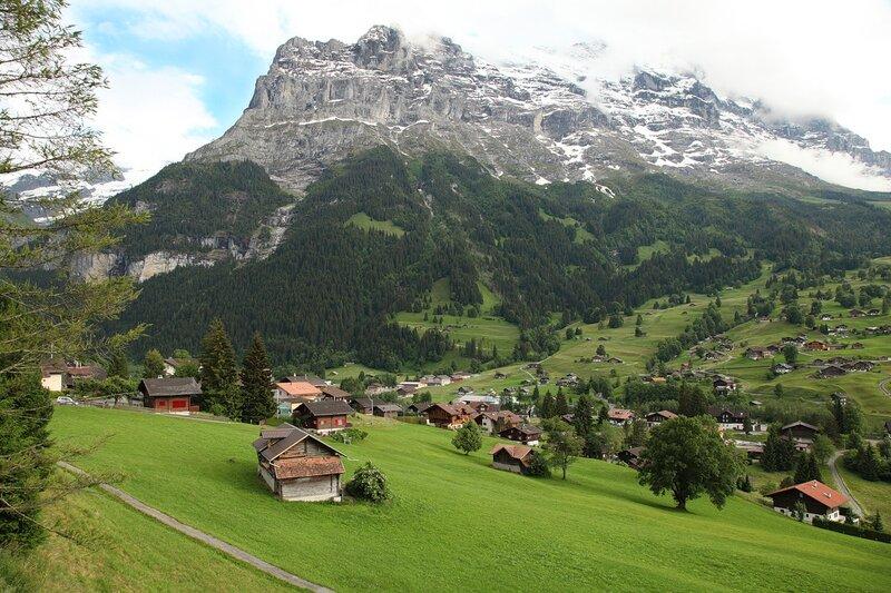 швейцария городок мелиде фотографии города временем, когда