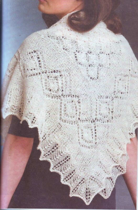 техника вязания шарфов - Выкройки одежды для детей и взрослых.