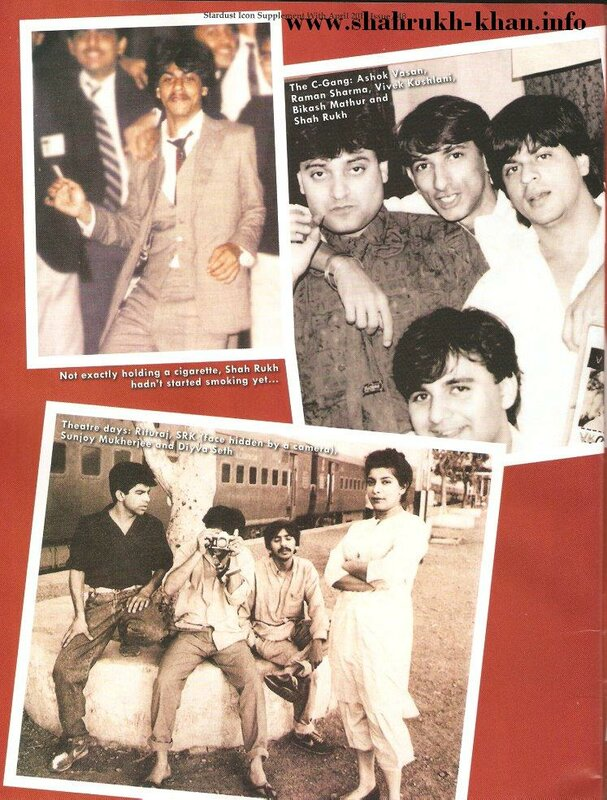 Stardust April 2010 - Shahrukh Khan's life (4)