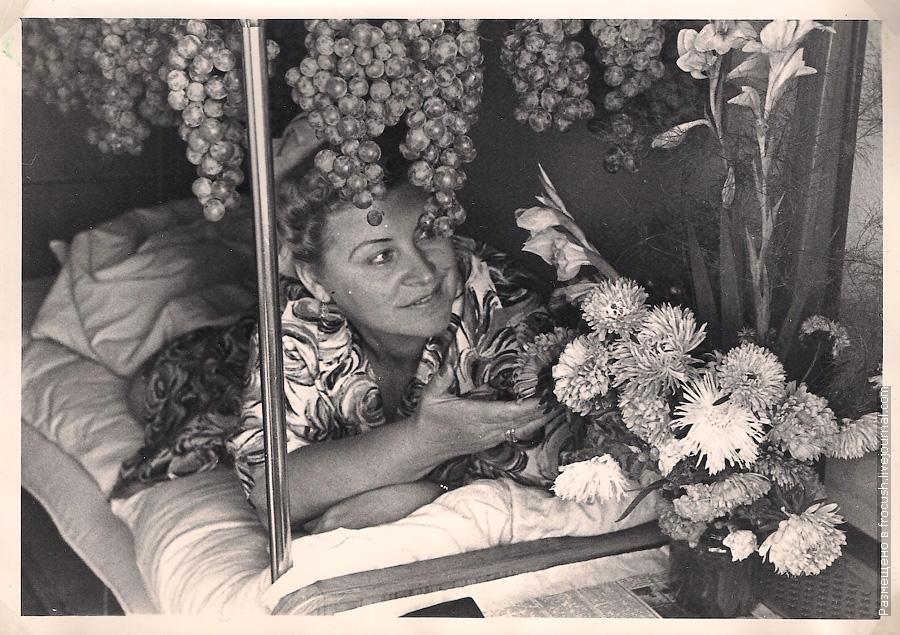 интерьер каюты теплохода Алеша Попович 1965 год