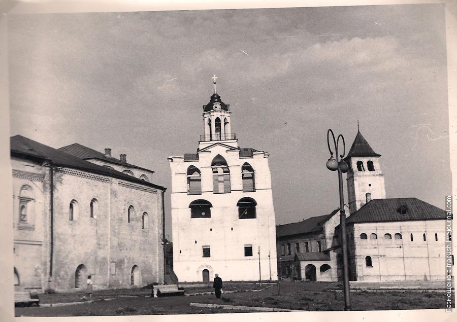 Ярославль Спасский монастырь фотография 1965 год