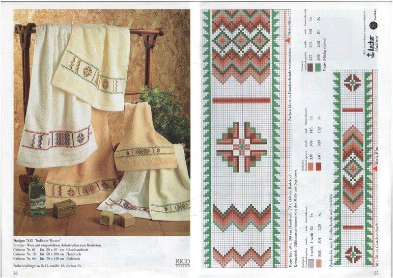 Схемы вышивки крестом в режиме просмотра (превью).  Украшаем вышивкой полотенца и рушники.  Нажмите на картинки для...