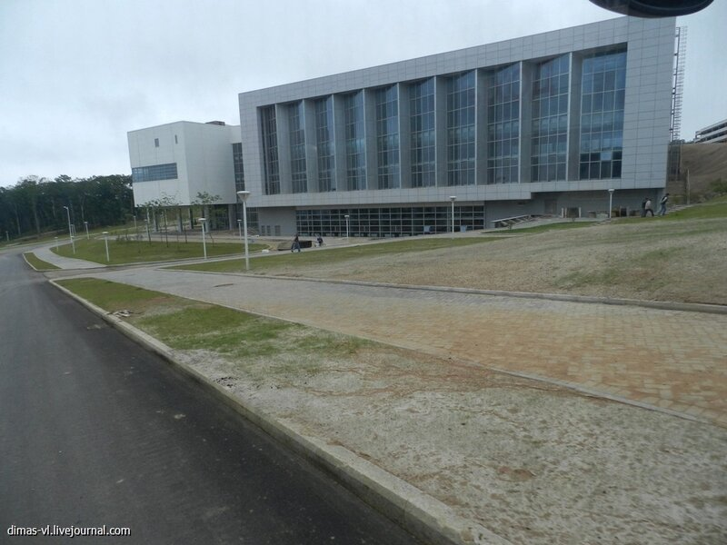 Кампус ДВФУ на острове Русском. 11-июля-2012г
