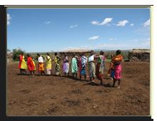 Кения. Масаи Мара. Масайская деревня. Фото Павла Аксенова