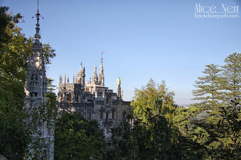 quinta da regaleira, sintra, дворец Регалейра