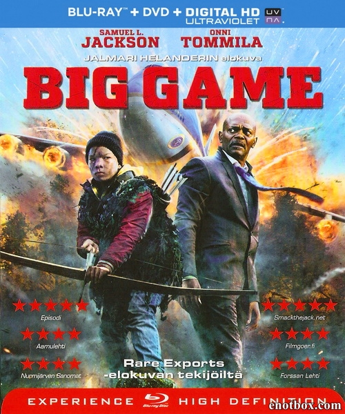 Большая игра / Big Game (2014/BDRip/HDRip)