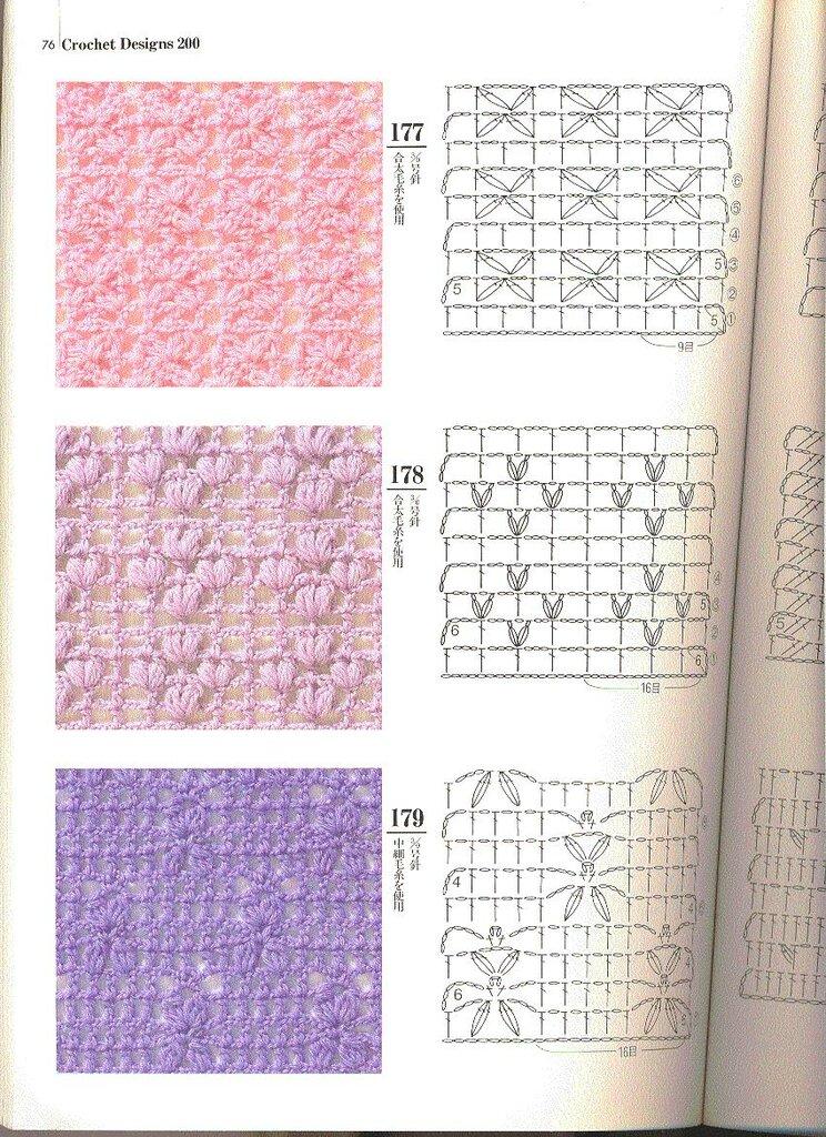 3 Puntadas Crochet 3 Puntos Crochet