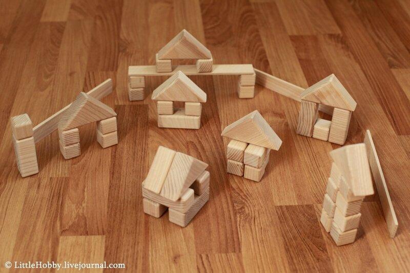 Деревянная конструктор своими руками