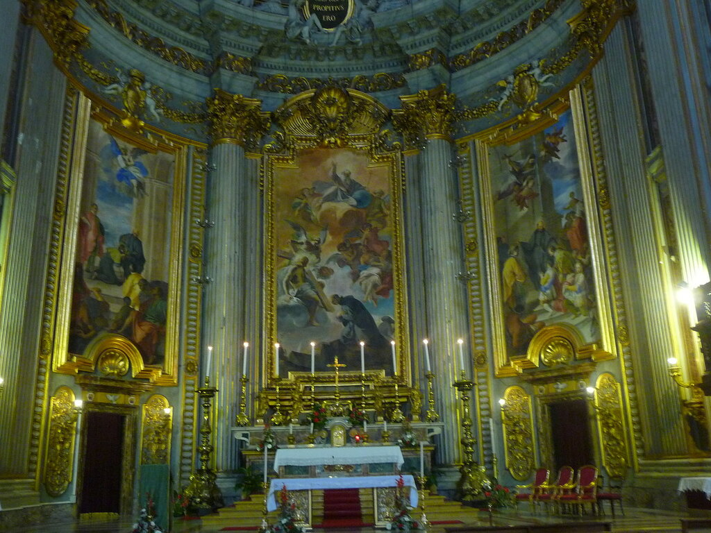 Церковь Св. Игнацио.