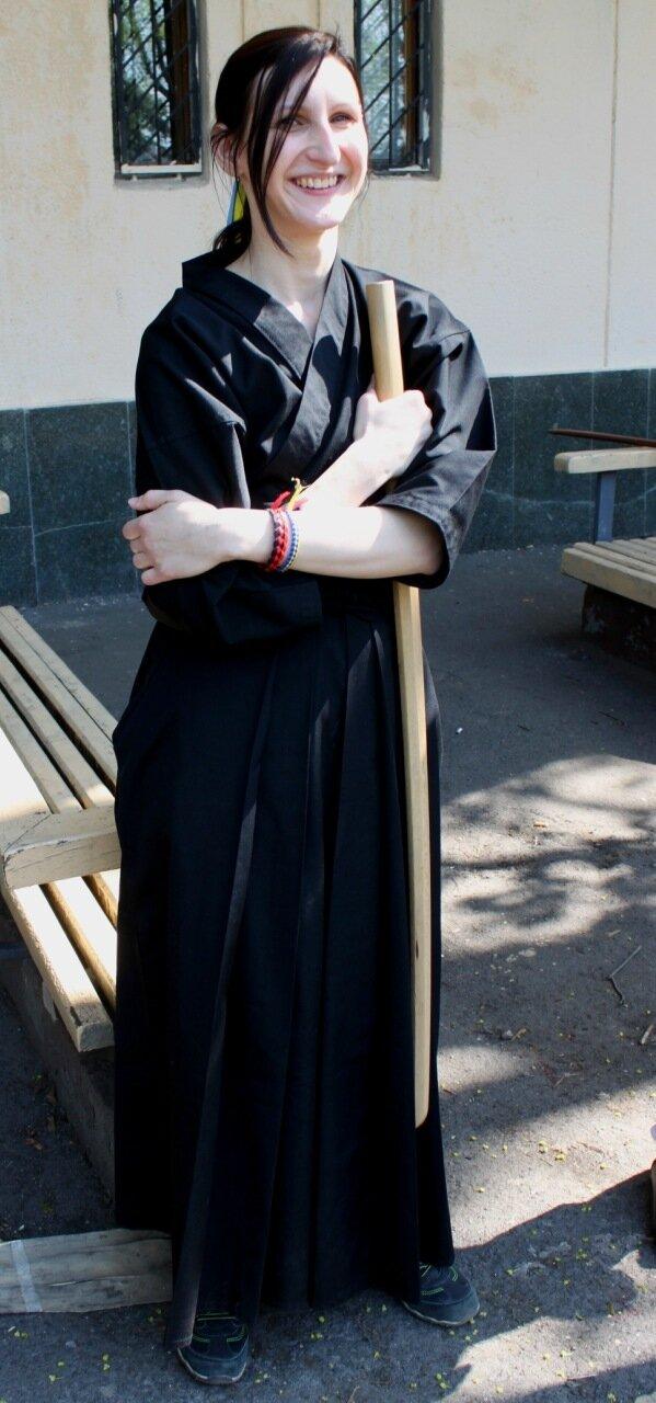Участница V Фестиваля боевых искусств