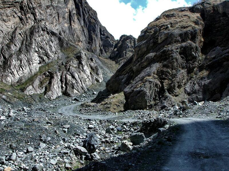 дорога в Кармадон