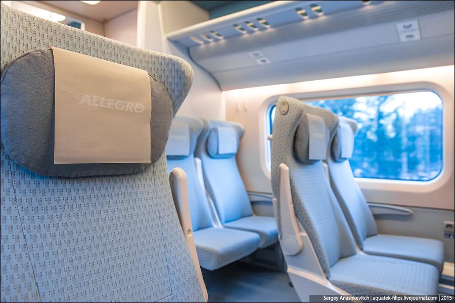Скоростной поезд Allegro