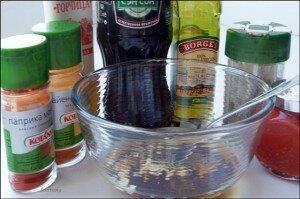 продукты для маринования ребрышек