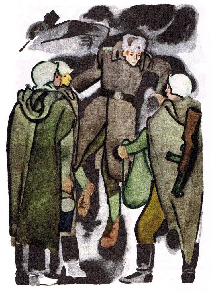 поколений советского картинка к рассказу землянка место