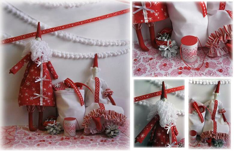 Санта готовится