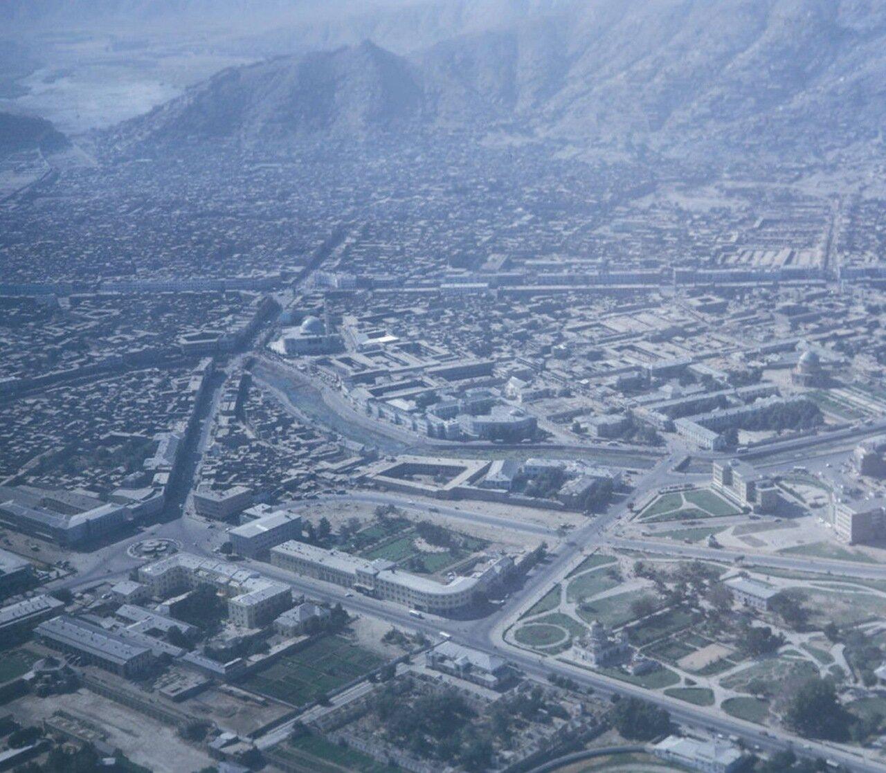 Аэрофотосъемка Кабула