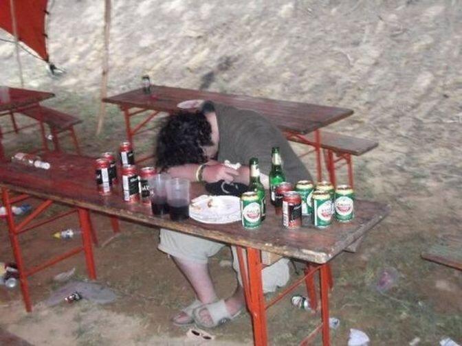 Пьяные девушки в дрова — photo 2