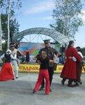 Реконы внесли оживление в праздник села