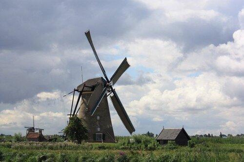 Голландские ветряные мельницы