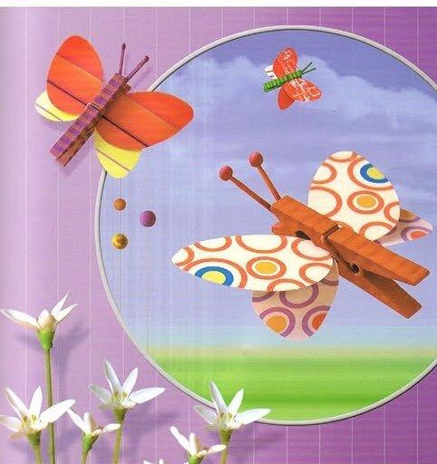 Весенние поделки из цветнои бумаги