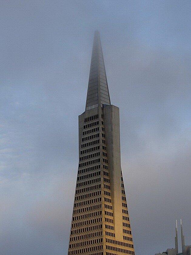 Небоскреб Transamerica Pyramid. Сан-Франциско, США