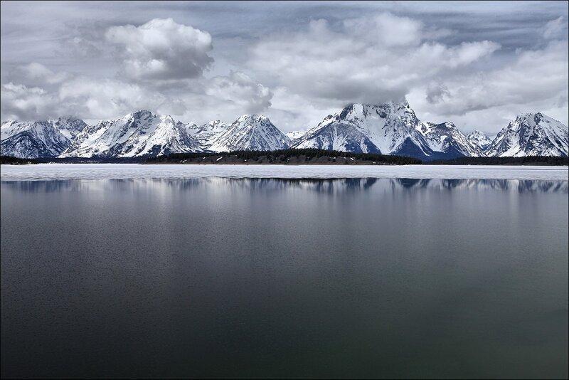 Зеркало Озера Джексон