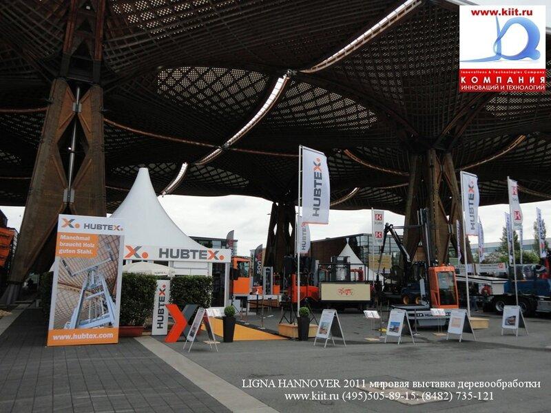 фото стенд компании HUBTEX и GENKINGER-HUBTEX на выставке LIGNA 2011