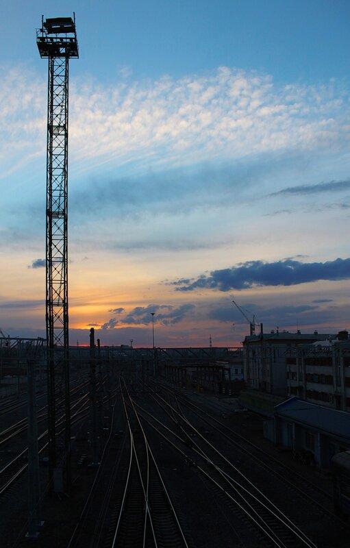 Железнодорожный закат-2