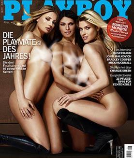 Анна Мария Кагерер, Ирис Баккер и Сильвия Наутен / Anna Maria Kagerer, Iris Bakker, Silvia Hauten in Playboy Germany june 2011