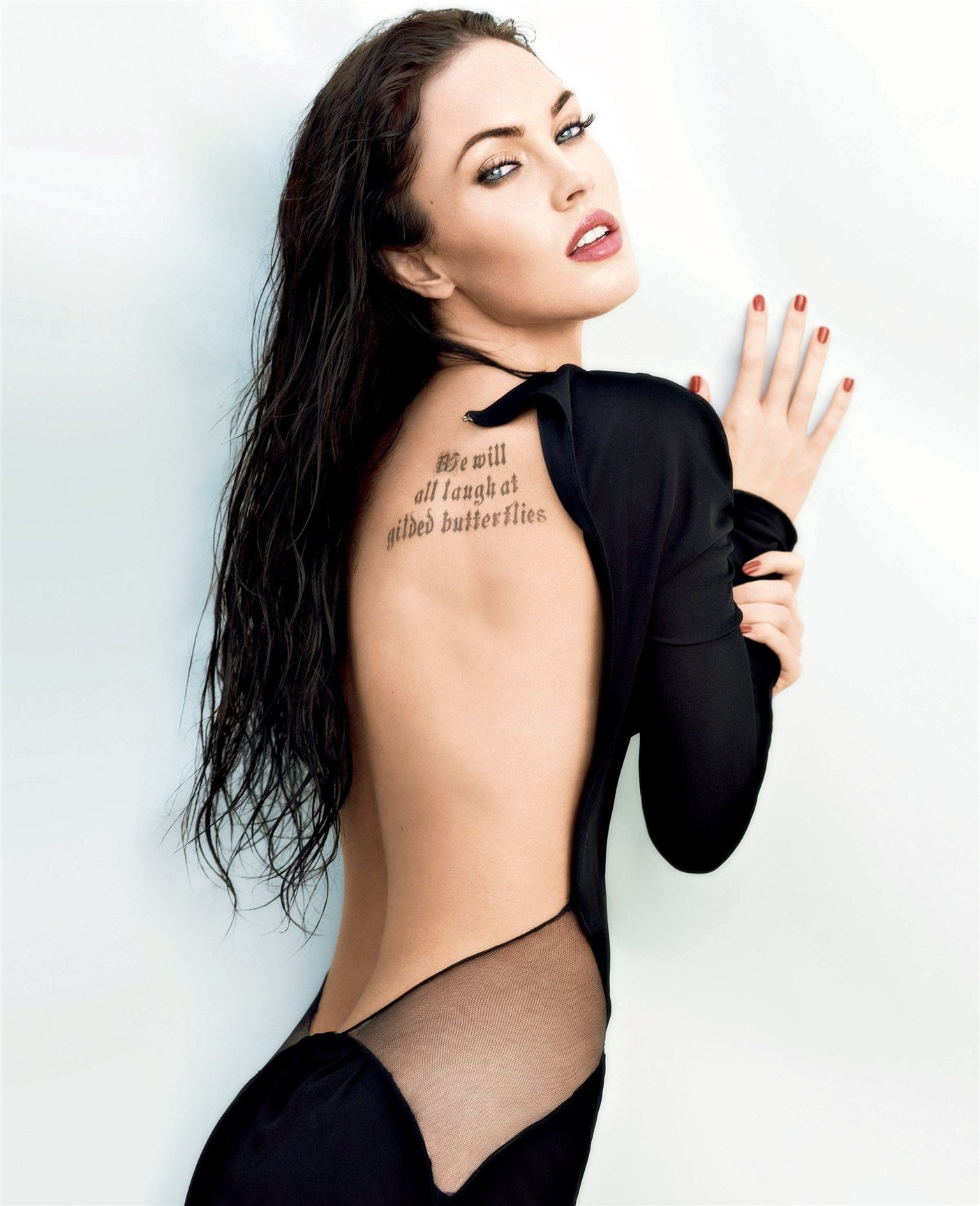 Меган Фокс / Megan Fox by Alexei Hay in Elle US june 2009