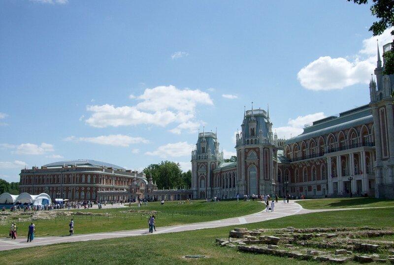 Панорама Царицынского ансамбля